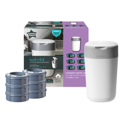 Tommee Tippee Twist & Click Tub with 6 Cassettes