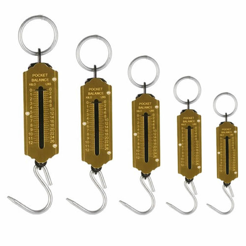 Heavy Duty Hanging Hook Handheld Metal Mechanical Weighing Scale Luggage