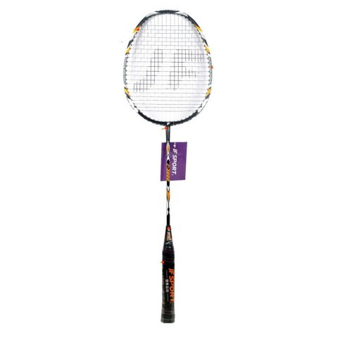Pro Badminton Racquet Restrung Rackets with Bag Black&Orange