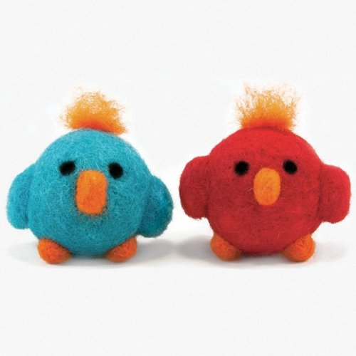D72-73900 - Dimensions Needle Felting - Round & Wooly: Birds