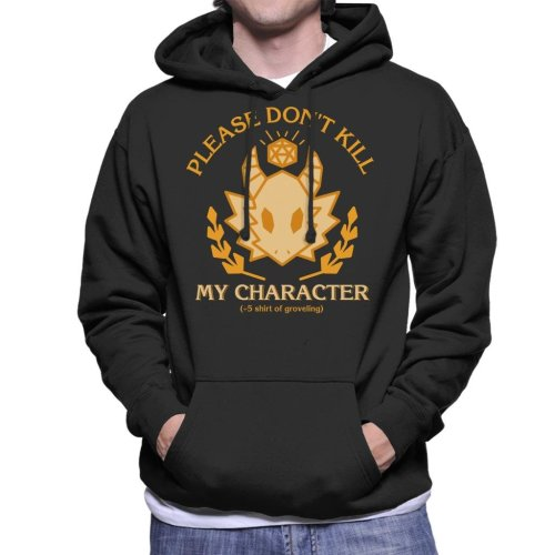 Dungeons And Dragons Grovelling Shirt Men's Hooded Sweatshirt