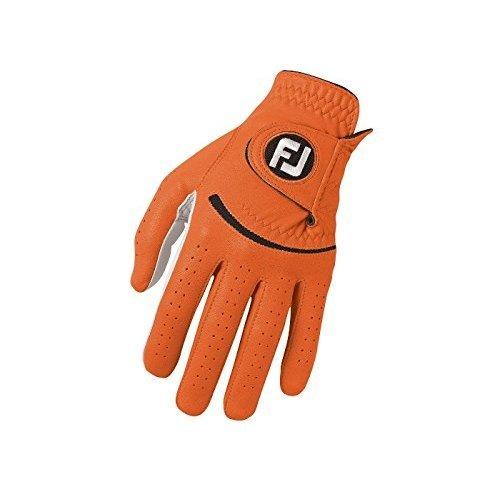 Footjoy FJ Spectrum - Golf Gloves for Left Hand Color Orange Size: ML