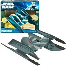 Star Wars The Clone Wars Hyena Bomber Vehicle