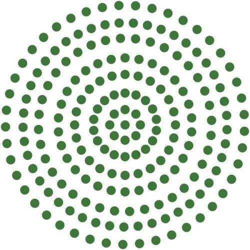 3 mm Self Adhesive Pearls - Emerald Green, 206 per Pack