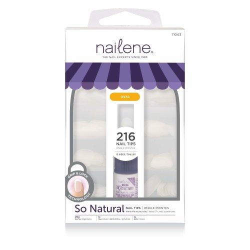 Nailene Full Cover 200 Oval Nails