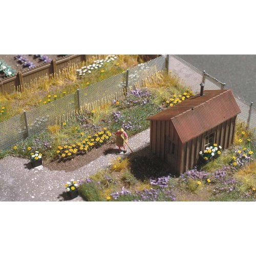 HO 60 oxeye daisies plastic kit - Busch 9783