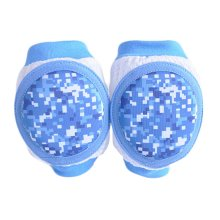 Blue Infant Toddler Baby Crawling Protector Knee Elbow Pads