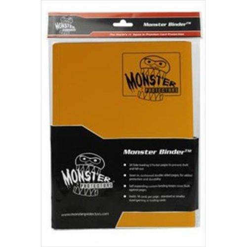 Monster Binders 9PMOR Binder 9 Pocket Monster - Matte Orange