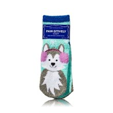 Bath and Body Works PawSitively Cozy Socks She Infused Lounge Socks Dog Puppy