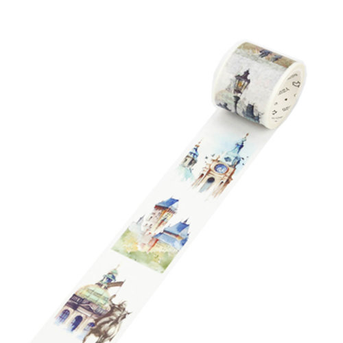 Decorative Craft Masking Tape DIY Crafts Gift Washi Tape 40mmx7m,Czech