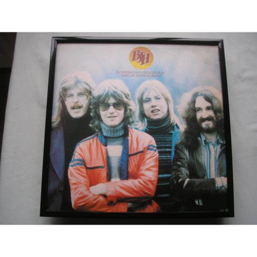 BARCLAY JAMES HARVEST Everybody LP cover framed for wall mounting BLACK