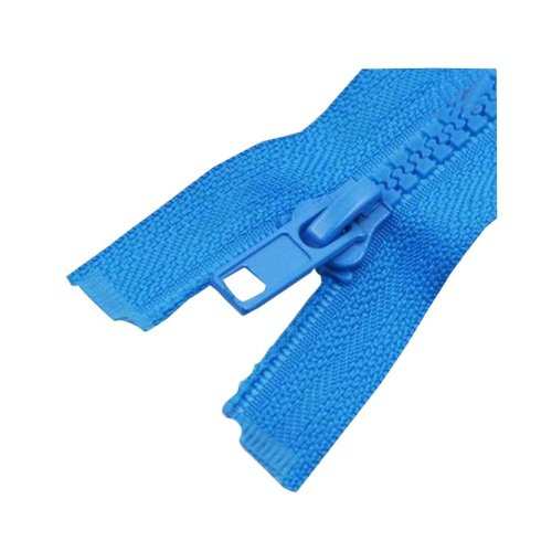 Set of 2 Durable Home Clothes Zippers DIY Blue Sewing Supply 60 CM