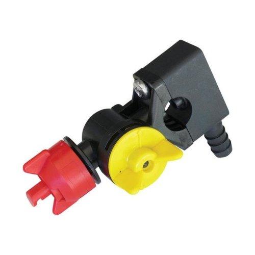 Fimco 7527724 Center Nozzle Wet Boom - Black  Yellow & Red