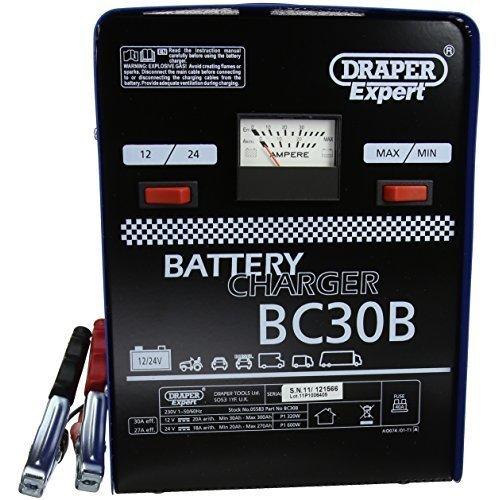 230v Battery Charger - Draper Expert 20a 12v24v 05583 -  draper expert 20a battery charger 12v24v 05583