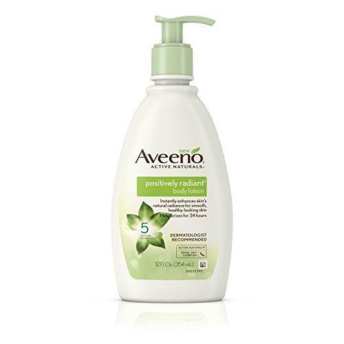 Aveeno Positively Radiant Body Lotion 12 Fl Oz (Pack of 3)