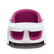Ingenuity Baby Base 2-in-1 Booster Seat Pink Flambe K10866
