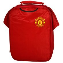 Manchester United Kit Lunch Bag - Football Official School Fc Gift Club Box New -  lunch kit bag manchester united football official school fc gift