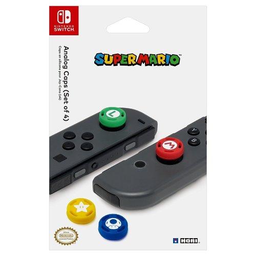 HORI Nintendo Switch Super Mario Analog Caps (Nintendo Switch)