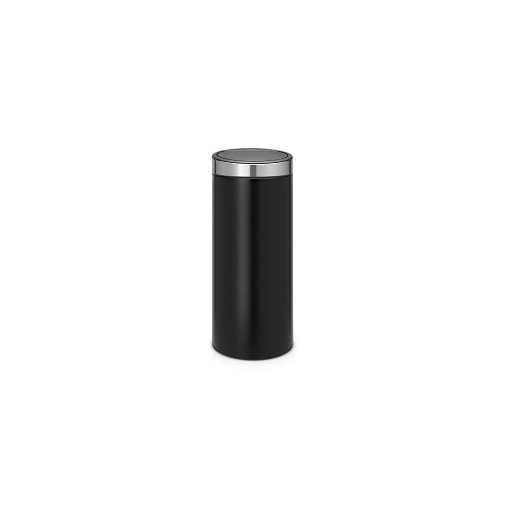 Brabantia Touch Bin 30 Liter Mat.Brabantia Touch Bin 30 Litre Matt Black Fingerprint Proof