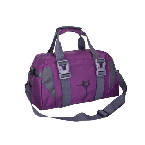[Purple] Fashion Lady Yoga Bag Practical Travel Backpack