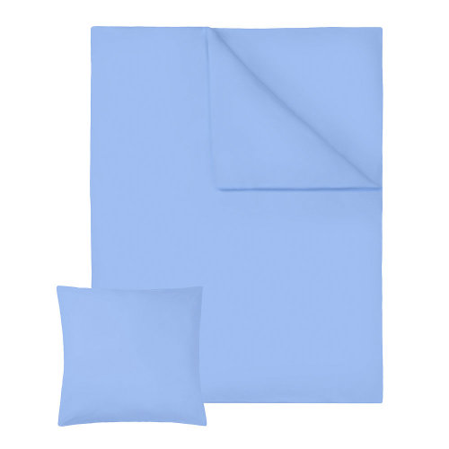 4 bedding sets 200x135cm cotton 2-piece blue