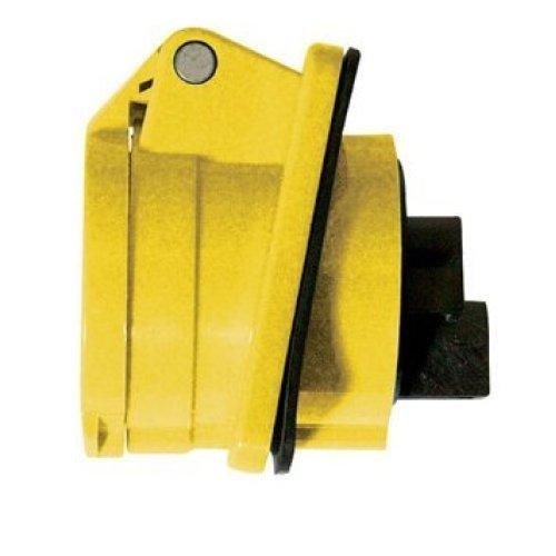 16a Silverline 110v Panel Socket - 794334 Pin -  16a panel socket 110v silverline 794334 pin