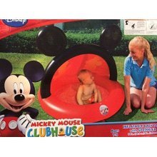 Mickey Mouse Clubhouse Inflatable Baby Pool with Sprinkler