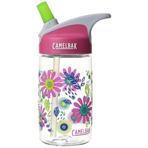 Camelbak Kids' Eddy Water Bottle, Daisies, 14 oz /0.4L