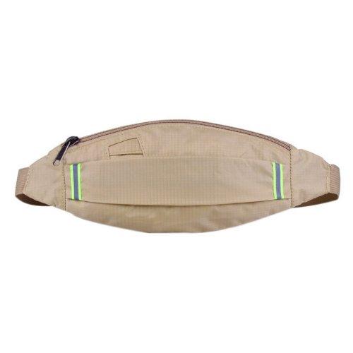 Outdoor Sports And Leisure Large Capacity Fashion Waist Bags, Khaki