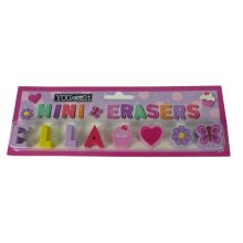 Childrens Mini Erasers - Ella