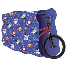 Giant Christmas Bicycle Present Wrap Xmas Bike Scooter BMX Large Gift Xmas