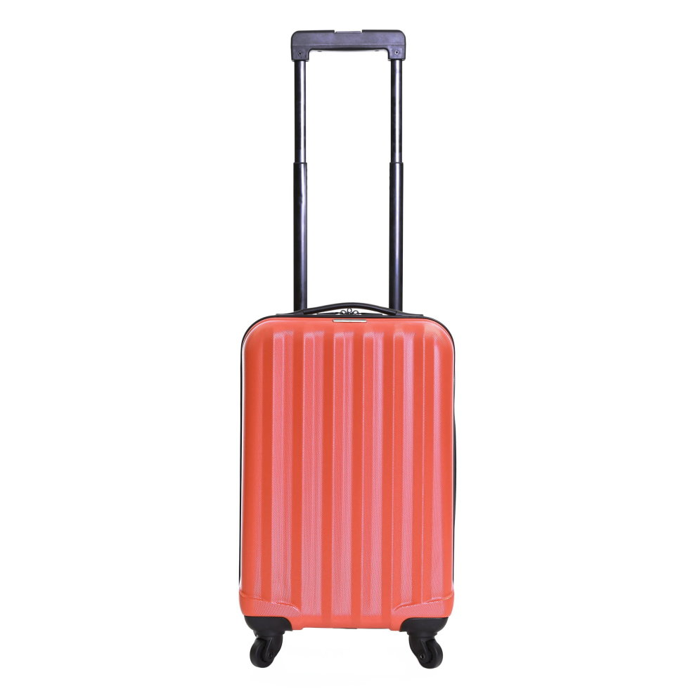 EAN 5060360081472 product image for Karabar Monaco Cabin Approved Hard Suitcase, Red | upcitemdb.com