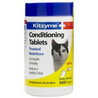 Kitzyme Cats Conditioning Tablets