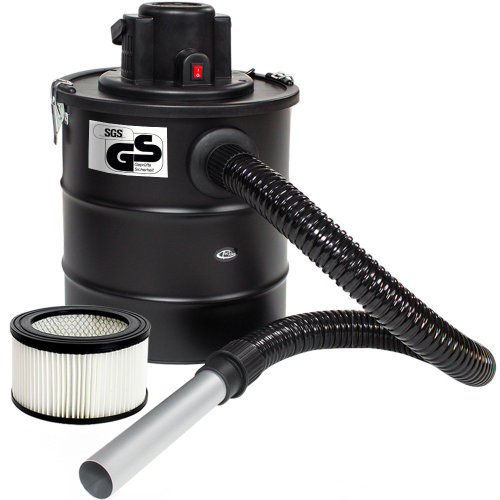 Ash vacuum cleaner 1200 W, metal suction hose + filter + 1 spare...