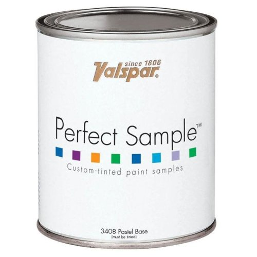 Valspar Brand 1 Pint Clear Base Perfect Sample Custom-Tinted Paint Samples 27-3