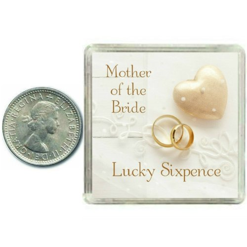 LUCKY SILVER SIXPENCE COIN 18TH BIRTHDAY FEMALE MALE GIFT PRESENT KEEPSAKE