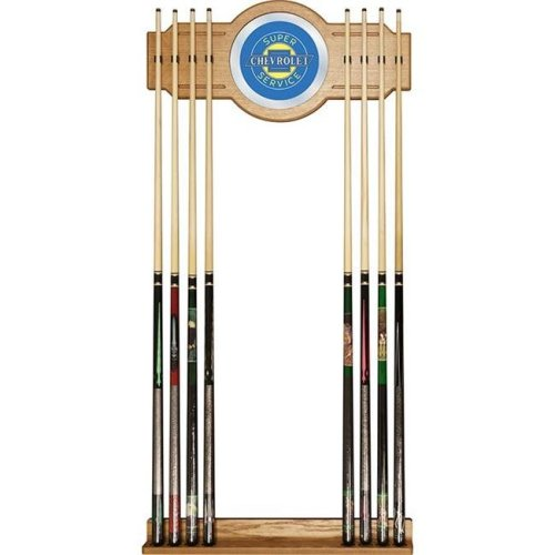 Trademark Global GM6000-SS Chevrolet Cue Rack with Mirror - Super Service