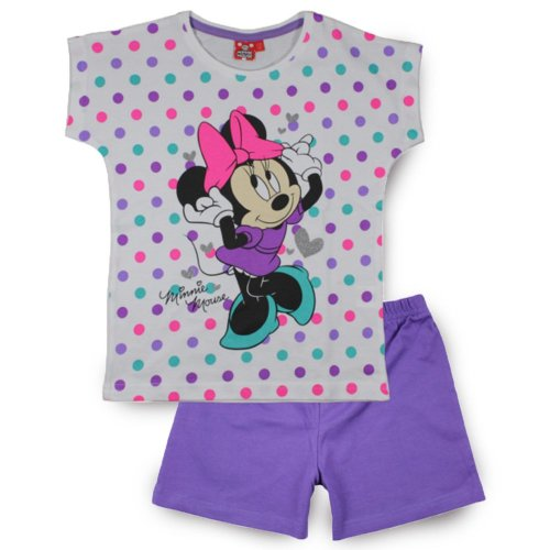 Minnie Mouse Short Pyjamas - Purple