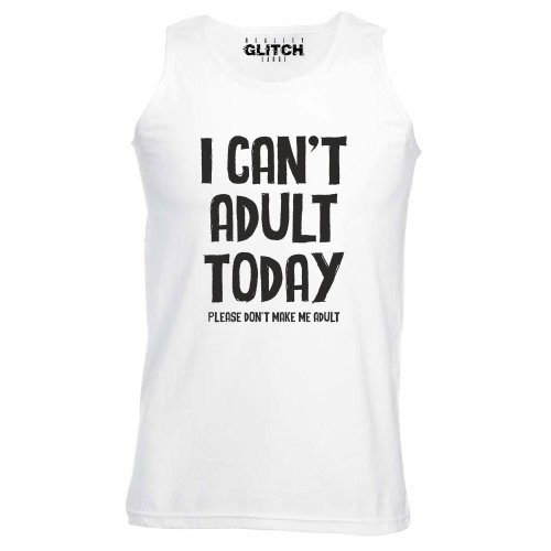 Reality Glitch I Can't Adult Today Mens Vest