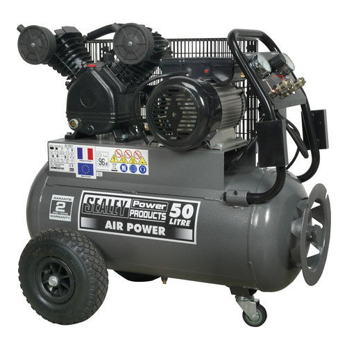 Sealey SAC3503B 50ltr Belt Drive Compressor 3hp with Front Control Panel