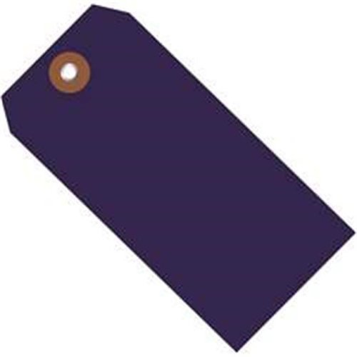 Box Partners G26055 4.75 x 2.38 in. Blue Plastic Shipping Tags - Pack of 100