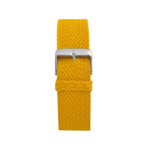 Wallace Hume Sunshine Yellow Men's Perlon Watch Strap