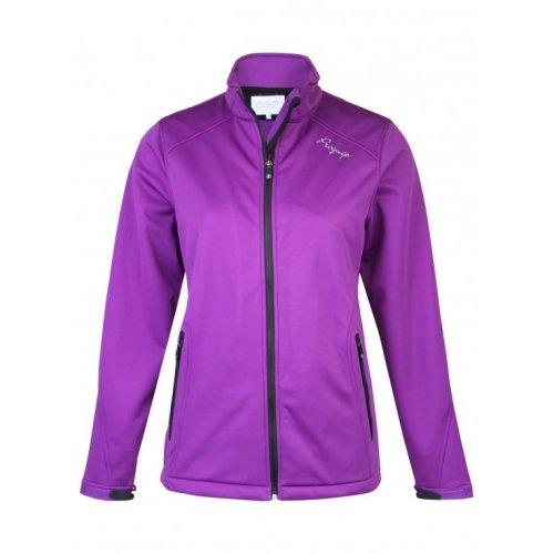 ProQuip Isla Full Zip Soft Shell Wind 360 Jacket Purple Small