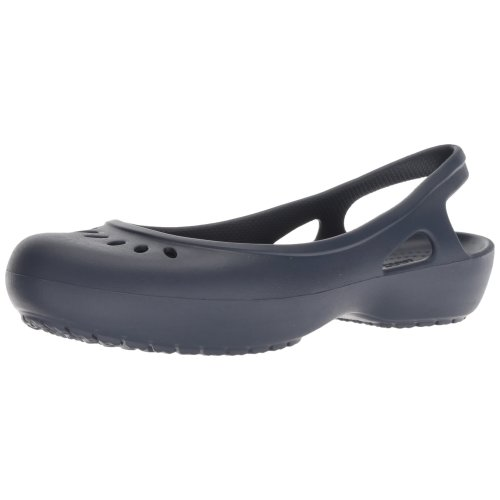 Crocs Kadee Slingback Women Closed-Toe Sandals, Blue (Navy), 6 UK (8 US)