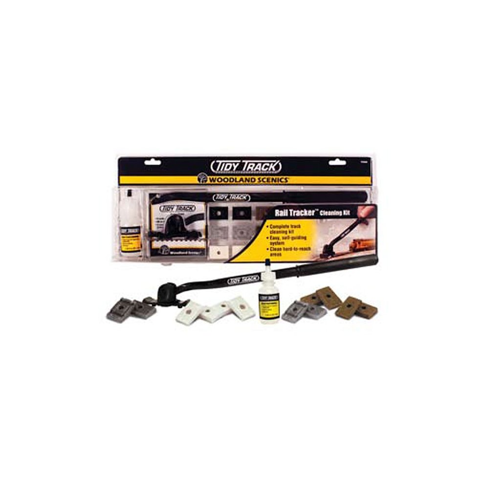 Rail Tracker Cleaning Kit (N & HO Scale) - Woodland Scenics TT4550 free  post P3