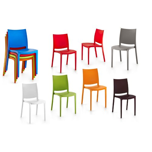 Plastic Olympus Low Back Chair Pub Restaurant,Garden,Patio Dining Chairs