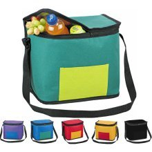 Large 13L Cooler Cool Bag Box Picnic Camping Food Drink Festival Shopping Ice[Red]