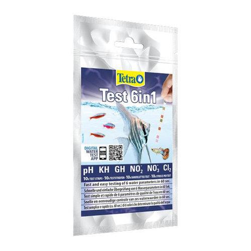 Tetra 6 in 1 Test Strip Water Test Kit (10 Strips)