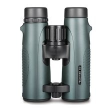 Hawke Frontier Binoculars 10x43 Ed Open Hinge Green - with Case and Strap 38303