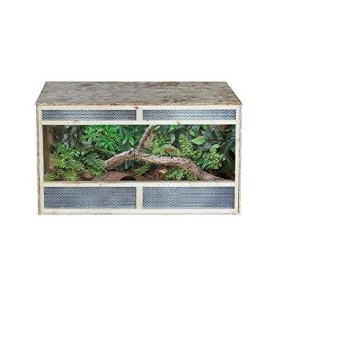 Pawhut Reptile Pet Vivarium Home House Terrarium Habitat - 80cm X 50cm X50cm